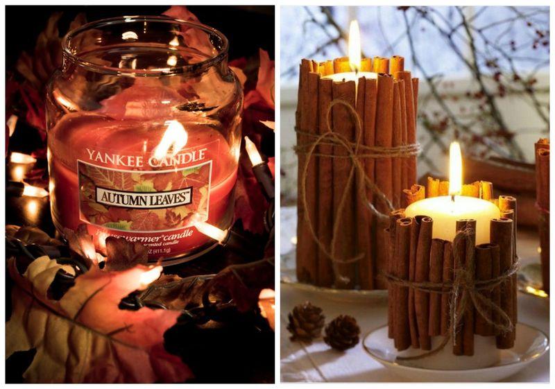 осенние-свечи